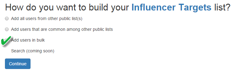 add users in bulk option