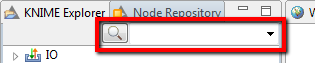 knime node search box